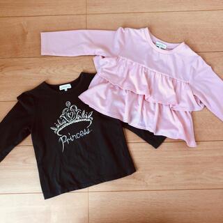 グリーンレーベルリラクシング(green label relaxing)のTシャツ トップス ロンT 105㎝ 2点セット(Tシャツ/カットソー)