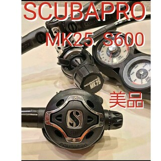 スキューバプロ S600 MK25 レギュレーターセット スキューバダイビング