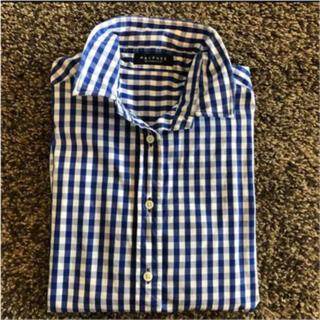 マカフィー(MACPHEE)のマカフィー ギンガムチェック シャツ ワイヤー入り(シャツ/ブラウス(長袖/七分))