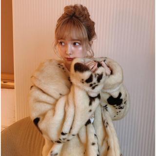 ロキエ(Lochie)のTreat ♡ moo-moo cow fur coat(毛皮/ファーコート)