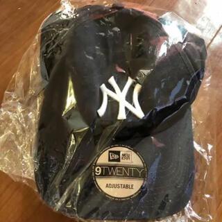モマ(MOMA)のNYヤンキースキャップ MoMA ブラック帽子モマ(キャップ)