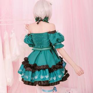 メリークリスマス ウィッグ付き ツリーラムレム姫豪華衣装セット(衣装一式)