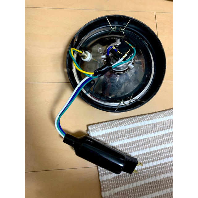 バイク ヘッドライト 自動車/バイクのバイク(パーツ)の商品写真
