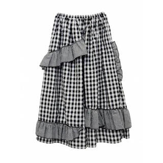ハニーミーハニー(Honey mi Honey)のアイリ様専用 ギンガムチェックスカート(ロングスカート)