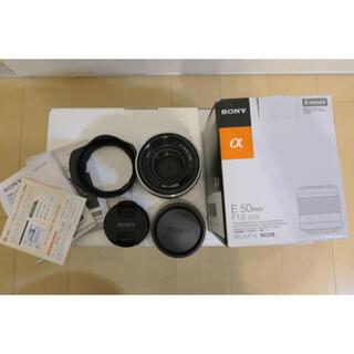 ソニー(SONY)のopo様専用50mm F1.8 OSS APS-C専用 SEL50F18(レンズ(単焦点))