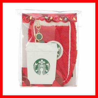スターバックスコーヒー(Starbucks Coffee)の☆スターバックス☆ ホリデー 2020 ペンシルケース&パスケースCups(名刺入れ/定期入れ)