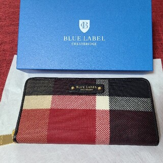 バーバリーブルーレーベル(BURBERRY BLUE LABEL)の新品☆BLUE LABEL CRESTBRIDGE 長財布(財布)