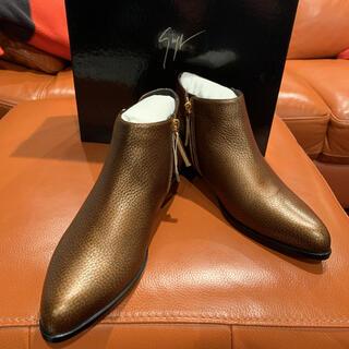 ジュゼッペザノッティデザイン(Giuseppe Zanotti Design)のGIUSEPPE ZANOTTI ショートブーツ ブーティ 新品未使用(ブーツ)