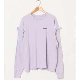 ホリデイ(holiday)の【HOLIDAY】SUPER FINE RUFFLE L/S TOPS(Tシャツ(長袖/七分))