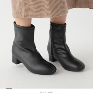 スタディオクリップ(STUDIO CLIP)のスタディオクリップ studio CLIP センターシームプレーンブーツ 黒(ブーツ)