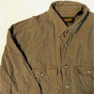 ティンバーランド(Timberland)のティンバーランド ビンテージ チェック シャツ 長袖 古着(シャツ)