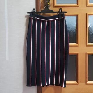 ドロシーズ(DRWCYS)のドロシーズ★ストライプニットスカート(ひざ丈スカート)
