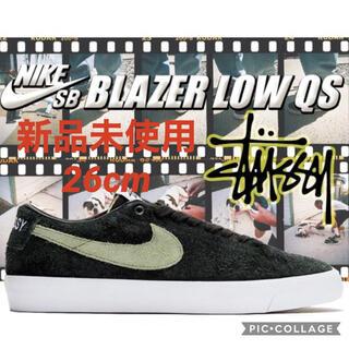 """ステューシー(STUSSY)のNIKE SB ZOOM BLAZER LOW QS""""STUSSY""""(スニーカー)"""
