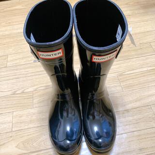 ハンター(HUNTER)のHUNTER レインブーツ 長靴 黒(レインブーツ/長靴)