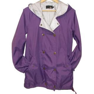 エックスジー(xg)のxg   エックスジー フード付コート 紫 サイズ-1(ナイロンジャケット)