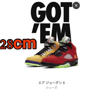 """ナイキ(NIKE)のAir Jordan 5 Retro """"What The""""(スニーカー)"""