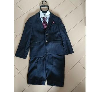 ミチコロンドン(MICHIKO LONDON)の【nico様  専用】スーツ&シャツセット 120センチ(ドレス/フォーマル)