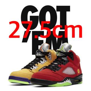 ナイキ(NIKE)のAIR JORDAN 5 RETRO SE what the Nike 27.5(スニーカー)