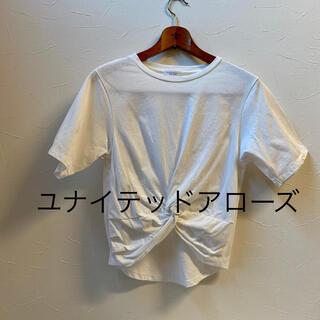 ユナイテッドアローズ(UNITED ARROWS)のユナイテッドアローズ*カットソー Tシャツ まえ絞り(Tシャツ(半袖/袖なし))