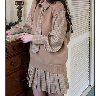 ロキエ(Lochie)の韓国 制服 ワンピース (ひざ丈ワンピース)