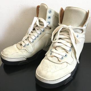 ジバンシィ(GIVENCHY)のジバンシー ハイカット スニーカー デニム 靴 42(スニーカー)