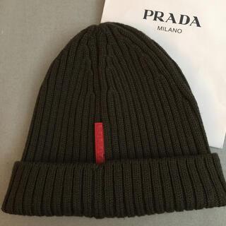 プラダ(PRADA)のPRADAプラダ ニットキャップ(ニット帽/ビーニー)