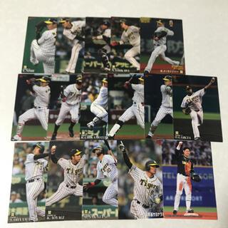 ハンシンタイガース(阪神タイガース)の19プロ野球チップス 阪神タイガース レギュラーカード16枚セット(シングルカード)