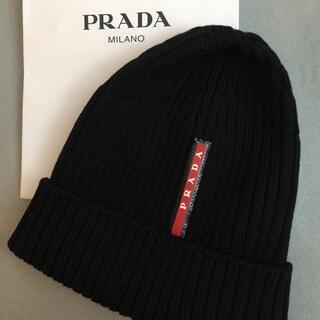 プラダ(PRADA)のPRADAプラダニットキャップ(ニット帽/ビーニー)