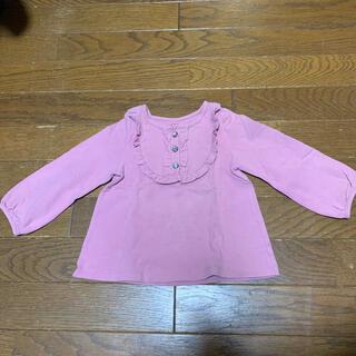 ケイトスペードニューヨーク(kate spade new york)のkatespade ピンク ロングTシャツ(Tシャツ/カットソー)