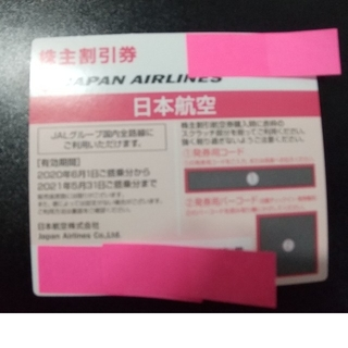 JAL株主優待券(航空券)