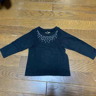ケイトスペードニューヨーク(kate spade new york)のkatespade 黒ロングTシャツ(Tシャツ/カットソー)