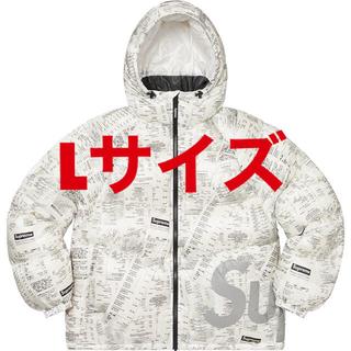シュプリーム(Supreme)の【Lサイズ】Supreme Hooded Down Jacket (ダウンジャケット)