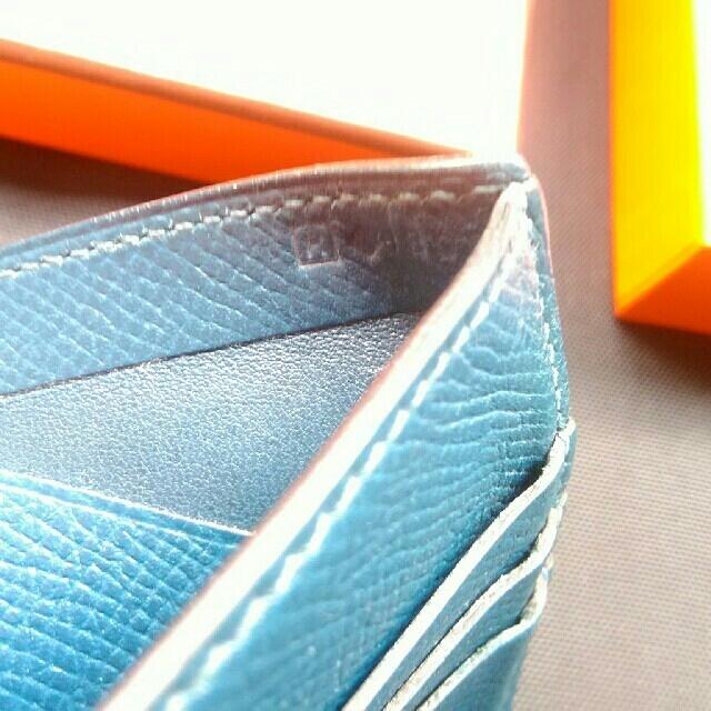 Hermes(エルメス)のタイムセール エルメス 2つおり コンパクト財布 格安 レア 箱付き メンズのファッション小物(折り財布)の商品写真