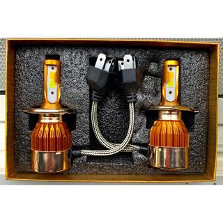 LEDヘッドライト H4 雷輝度 Wカラー 4800lm 2色切替  車検対応(汎用パーツ)