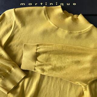 マルティニークルコント(martinique Le Conte)のMartinique⭐︎イエロー五分袖カットソー(カットソー(長袖/七分))
