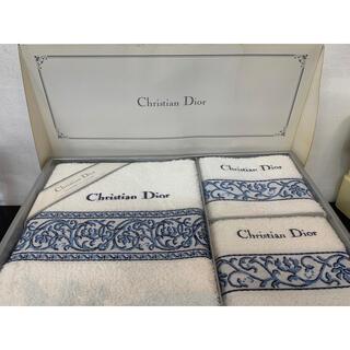 クリスチャンディオール(Christian Dior)のChristian Dior タオルセット(タオル/バス用品)