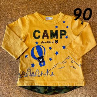 ダブルビー(DOUBLE.B)のダブルビー カモフラ柄ロンT 90(Tシャツ/カットソー)