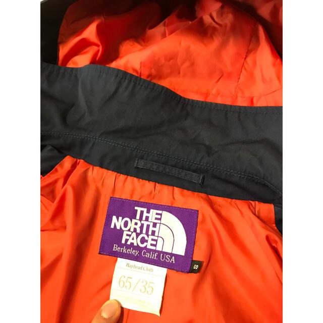 THE NORTH FACE(ザノースフェイス)のノースフェイスパープルレーベル BEAMS別注 ステンカラーコート 中古品S メンズのジャケット/アウター(ステンカラーコート)の商品写真