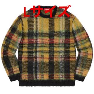 シュプリーム(Supreme)の【Lサイズ】Supreme Brushed Plaid Sweater (ニット/セーター)