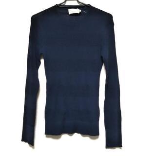 メゾンキツネ(MAISON KITSUNE')のメゾンキツネ 長袖セーター サイズS美品 (ニット/セーター)
