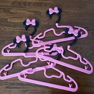 ディズニー(Disney)のミニー ハンガー 5本セット(押し入れ収納/ハンガー)