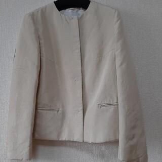 プラダ(PRADA)のPRADA シルク100%…中綿入ジャケット&ショートコート イイネ39セール(ダウンコート)
