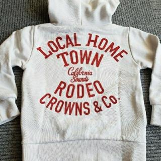 ロデオクラウンズ(RODEO CROWNS)のロデオクラウン  キッズ  パーカー M  110(Tシャツ/カットソー)