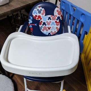 カトージ(KATOJI)のkatoji ミッキーデザイン食事用テーブル付チェア(その他)