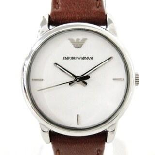 エンポリオアルマーニ(Emporio Armani)のアルマーニ 腕時計美品  - AR-9039L 白(腕時計)