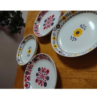 スリーコインズ(3COINS)の北欧 お皿 6枚セット(食器)