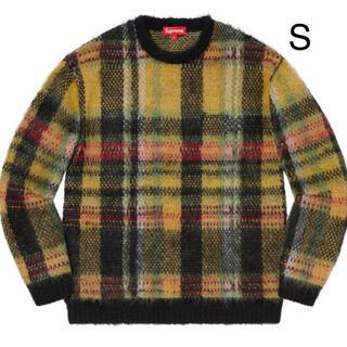 シュプリーム(Supreme)のBrushed Plaid Sweater S(ニット/セーター)