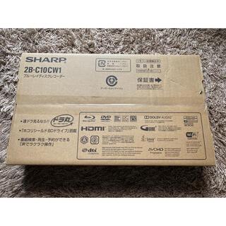 SHARP - 【新品】シャープ AQUOS ブルーレイレコーダー 2B-C10CW1