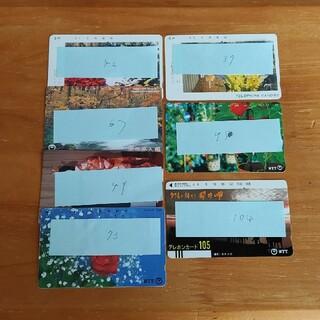 エヌティティドコモ(NTTdocomo)のまこさん専用 テレホンカード 使いかけ 使用済み 4690円分(その他)