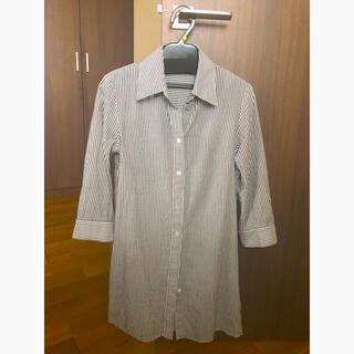 エムプルミエ(M-premier)のエムプルミエ ストライプシャツ(シャツ/ブラウス(長袖/七分))
